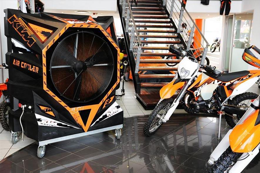 Climatiseur Mobile FoxAir chez KTM