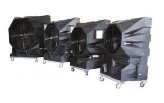 image gamme rafraîchisseurs d'air mobiles industriels foxair