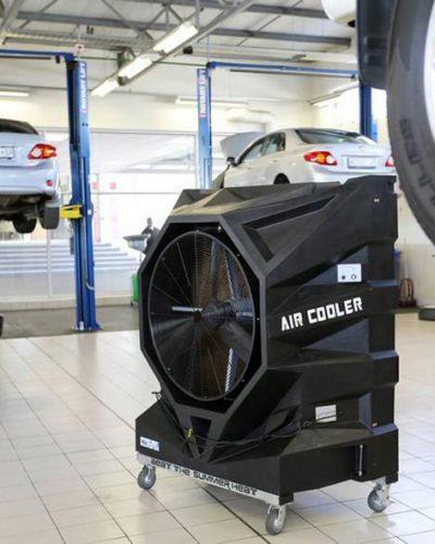 image foxair industrial portable evaporative air cooler